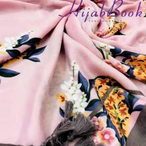 Flower-Printed-Viscos-Cotton-Hijab