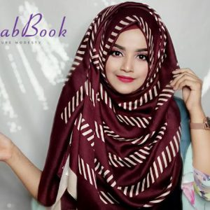 Hijab-Viscos-Cotton-Soft-Stripe-Printed