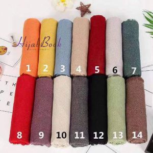 Hijab-Viscose-Cotton-One Color