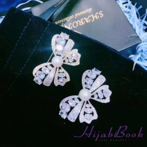 Exclusive-Brooch-Real Stone-Butterfly Shape